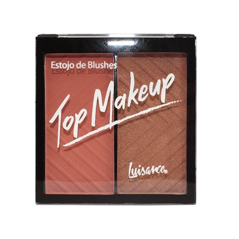Estojo de Blushes Top Makeup Luisance A *