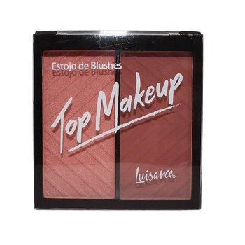 Estojo de Blushes Top Makeup Luisance B *
