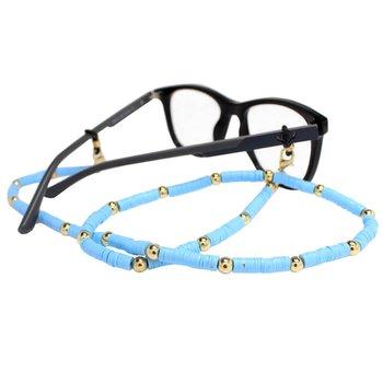 Cordão para Óculos Borrachinhas Azul