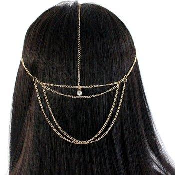 Headband Gypsy Dourado