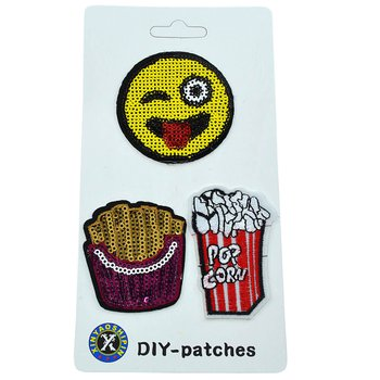 Cartela Patches Pop Corn
