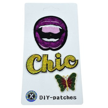 Cartela Patches Chic *