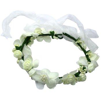 Coroa De Flor Pretty Branco