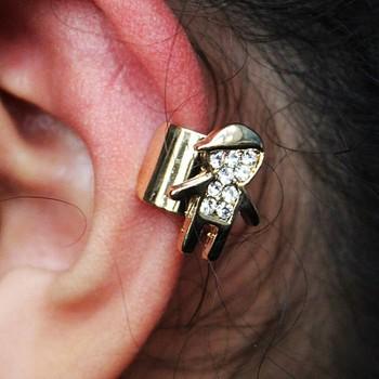 Brinco Ear Cuff Boy Dourado