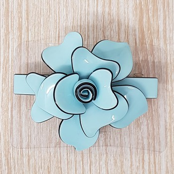 Presilha Flor Azul