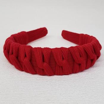 Tiara Macramê Vermelho
