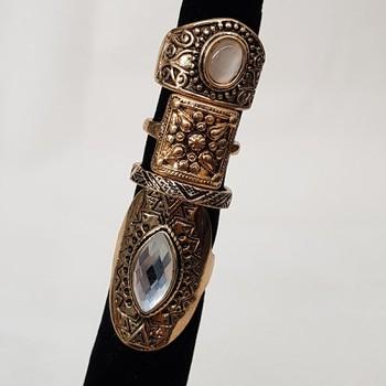 Kit De Anéis Ouro velho