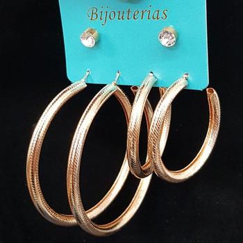 Kit De Brincos Dourado