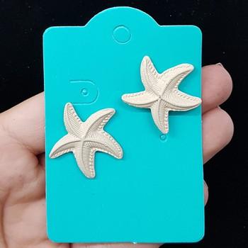 Brinco Estrela Do Mar Branco