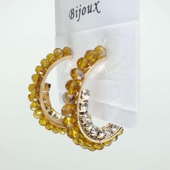 Argola Dourada Champanhe
