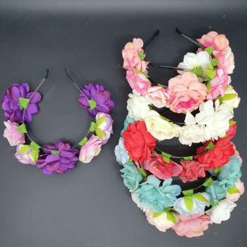 Dúzia De Tiaras De Flores