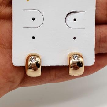Mini Argola Dourada