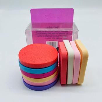 Kit Com 10 Esponjas De Maquiagem