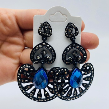 Brinco Black Azul