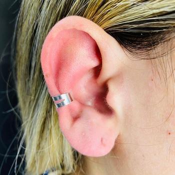 Piercing Fake (Uma Unidade) Folheado a Prata 925