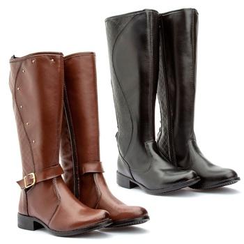 Kit 2 pares Montaria(231pto/221cap) - Fratelli Outlet   Especialista em Sapatos Sociais de couro