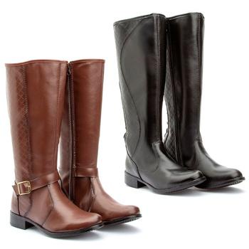 Kit 2 pares Montaria(231pto/223cap) - Fratelli Outlet   Especialista em Sapatos Sociais de couro