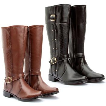 Kit 2 pares Montaria(229pto/221cap) - Fratelli Outlet   Especialista em Sapatos Sociais de couro