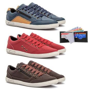 Kit 3 pares Detroit - Fratelli Outlet | Especialista em Sapatos Sociais de couro