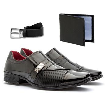 Sapato Social 816VP+CARTEIRA+CINTO - Fratelli Outlet | Especialista em Sapatos Sociais de couro