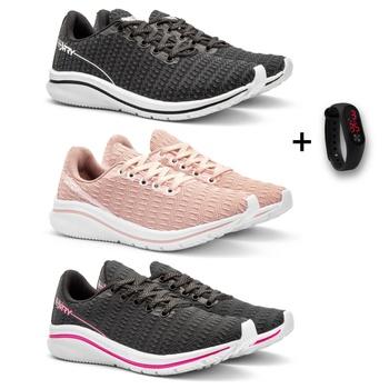 KIT 3 PARES RUNNING FEMININO+RELÓGIO - Fratelli Outlet | Especialista em Sapatos Sociais de couro