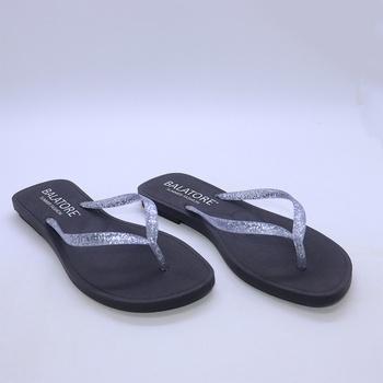 Chinelo Café/Prata - EN008/002 - Balatore Shoes