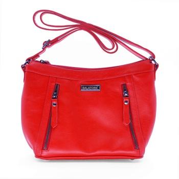 Bolsa Feminina em Couro Vermelha - 5189/001 - Balatore Shoes