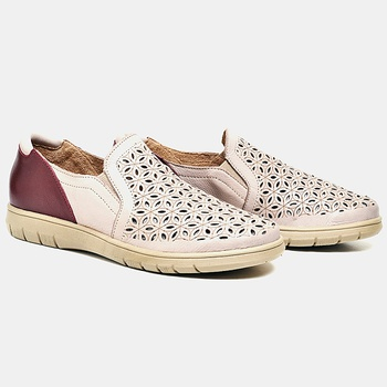 Tênis Nômade Nude e Vermelho - NM008/020 - Balatore Shoes
