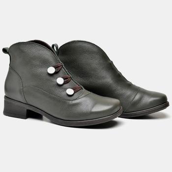 Bota Florença Verde Militar - FR001/008 - Balatore Shoes