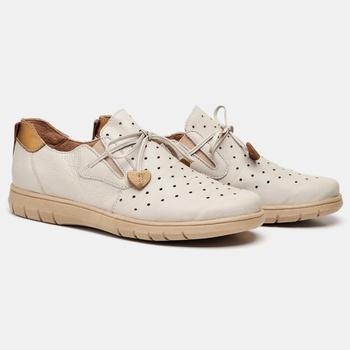 Tênis Nômade Off White e Bronze - NM001/016 - Balatore Shoes