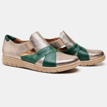 Tênis Nômade Prata Velho e Verde - NM010/003 - Balatore Shoes