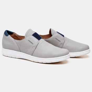 Tênis Nômade Cinza e Azul Marinho - NM011/003 - Balatore Shoes