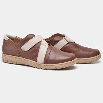 Tênis Nômade Tabaco e Off White - NM012/002 - Balatore Shoes