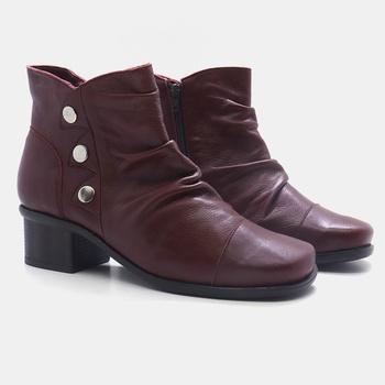 Bota Florença Vermelha - FR003/012 - Balatore Shoes
