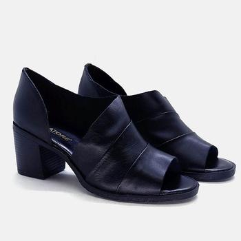 Sandália London Preta - LD009/009 - Balatore Shoes
