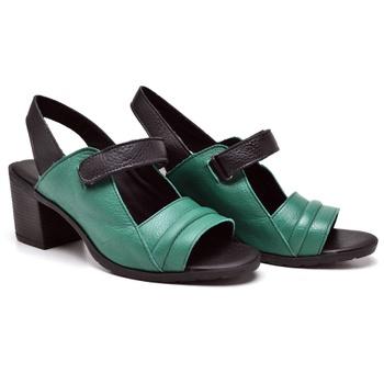 Sandália London Verde e Preto - LD095/004 - Balatore Shoes