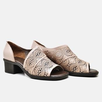 Sandália Ibiza Nude - IB025/014 - Balatore Shoes