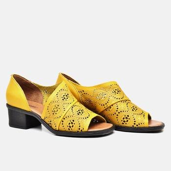 Sandália Ibiza Amarela - IB025/015 - Balatore Shoes