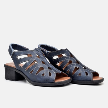 Sandália Ibiza Azul Marinho - IB119/002 - Balatore Shoes