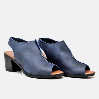 Sandália London Azul Marinho - LD027/011 - Balatore Shoes