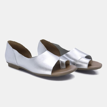 Flat Maresias Prata - MA018/005 - Balatore Shoes