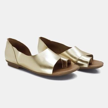 Flat Maresias Ouro - MA018/006 - Balatore Shoes