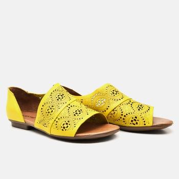 Flat Rasteira Maresias Citrus - MA022/036 - Balatore Shoes