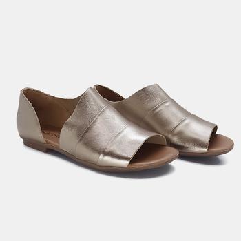 Flat Rasteira Maresias Prata Velho - MA032/022 - Balatore Shoes