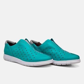 Tênis Nômade Azul Turquesa - NM005/002 - Balatore Shoes