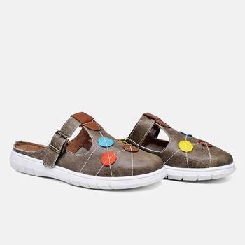 Mule Nômade Estonado Areia - NO002/001 - Balatore Shoes