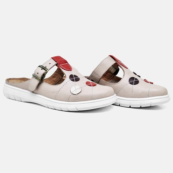 Mule Nômade Nude - NO002/003 - Balatore Shoes