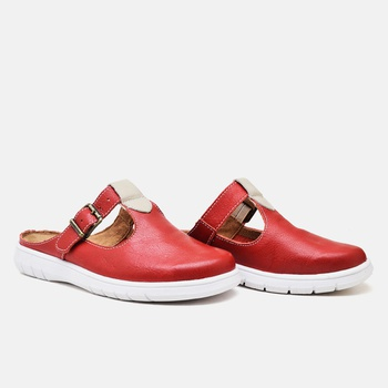 Mule Nômade Carmim - NO003/002 - Balatore Shoes
