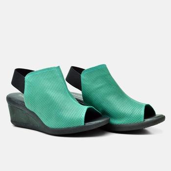 Sandália Veneza Esmeralda e Verde - VN007/018 - Balatore Shoes
