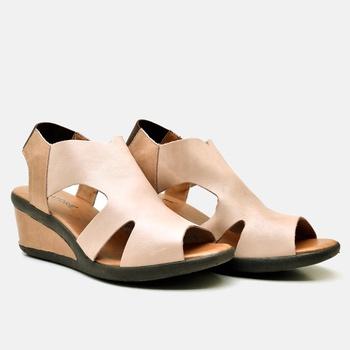 Sandália Veneza Nude e Amêndoa - VN024/019 - Balatore Shoes